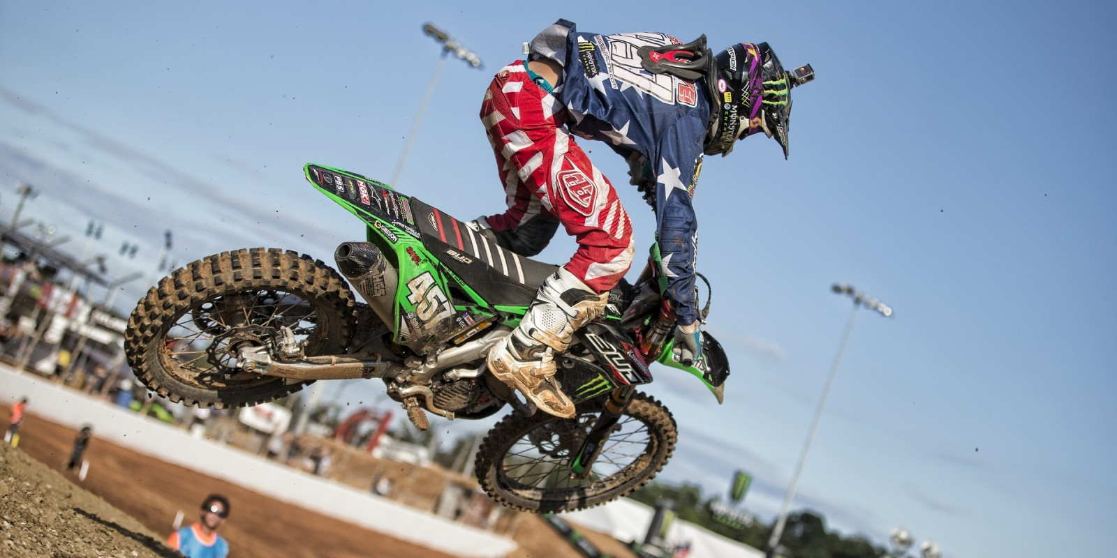 Darian Sanayei at the 2016 Monster Energy MXGP of Americas