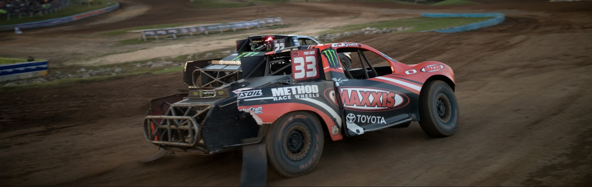 Johnny Greaves and CJ Greaves at the 2016 Off Road Championship Series at the AMSOIL Cup at Crandon