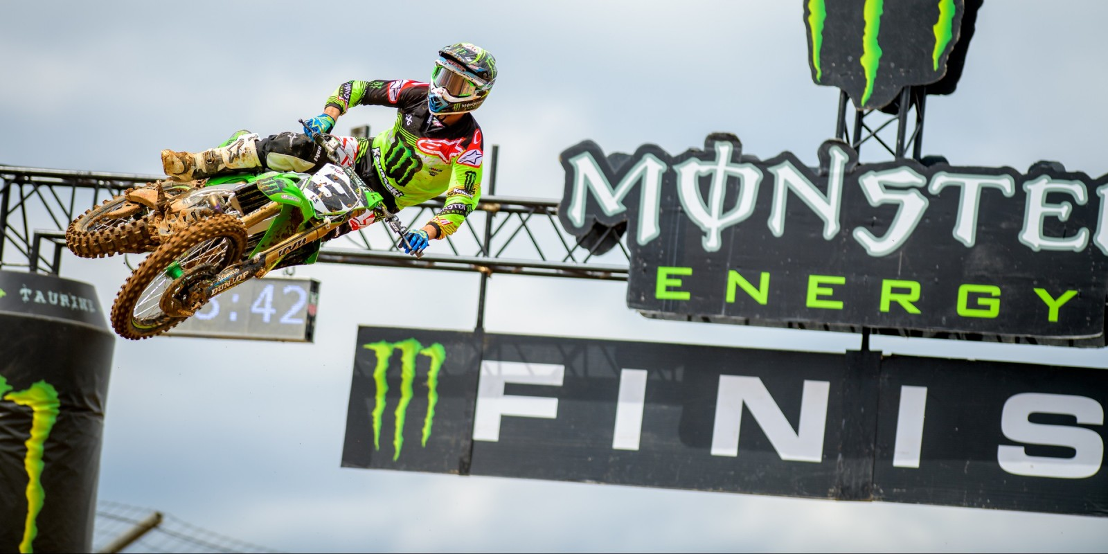Eli Tomac at the 2016 MXGP Of The Americas at Charlotte, NC