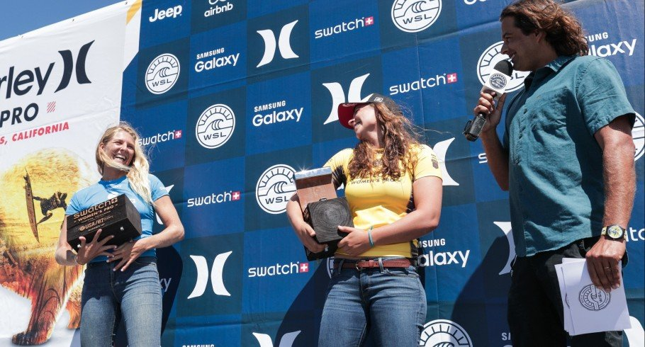 Tyler Wright Wins Swatch Women's Pro at the Hurley Pro event in San Clemente, California