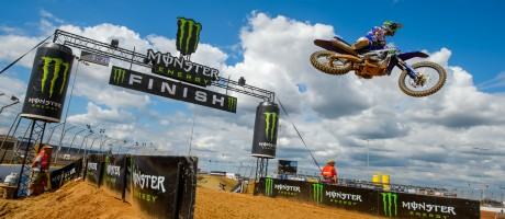 Romain Febvre at the 2016 MXGP Of The Americas at Charlotte, NC