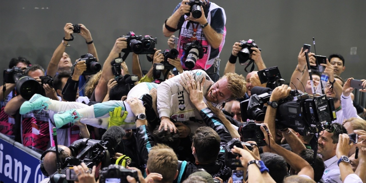 Sunday / Race images from the 2016 Singapore Grand Prix