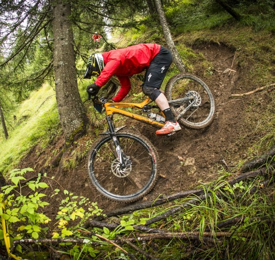 Jared Graves at the 2016 Mountain Bike season in at the EWS Round 7 event in Valberg, France