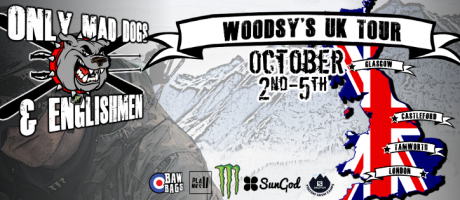 Artwork for Woodsy uK Tour