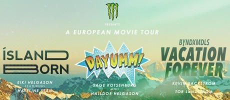 graphics for snowboard movie tour
