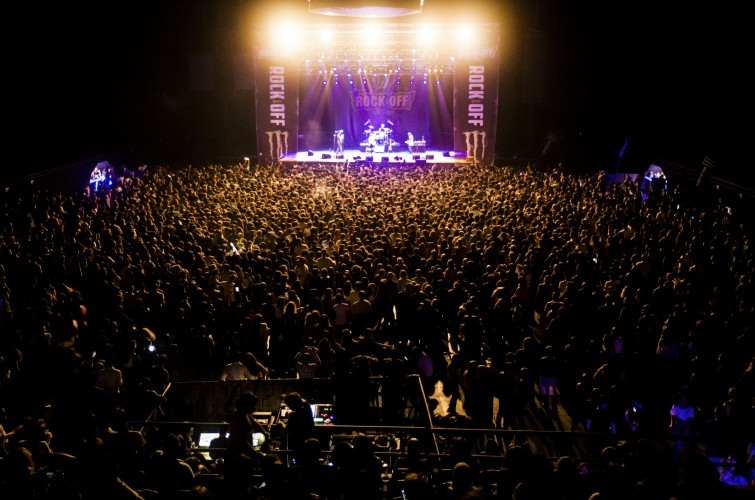 Monster Energy Presents : Rock Off Locals one-day festival. Main sponsor, branding on stage and sites.