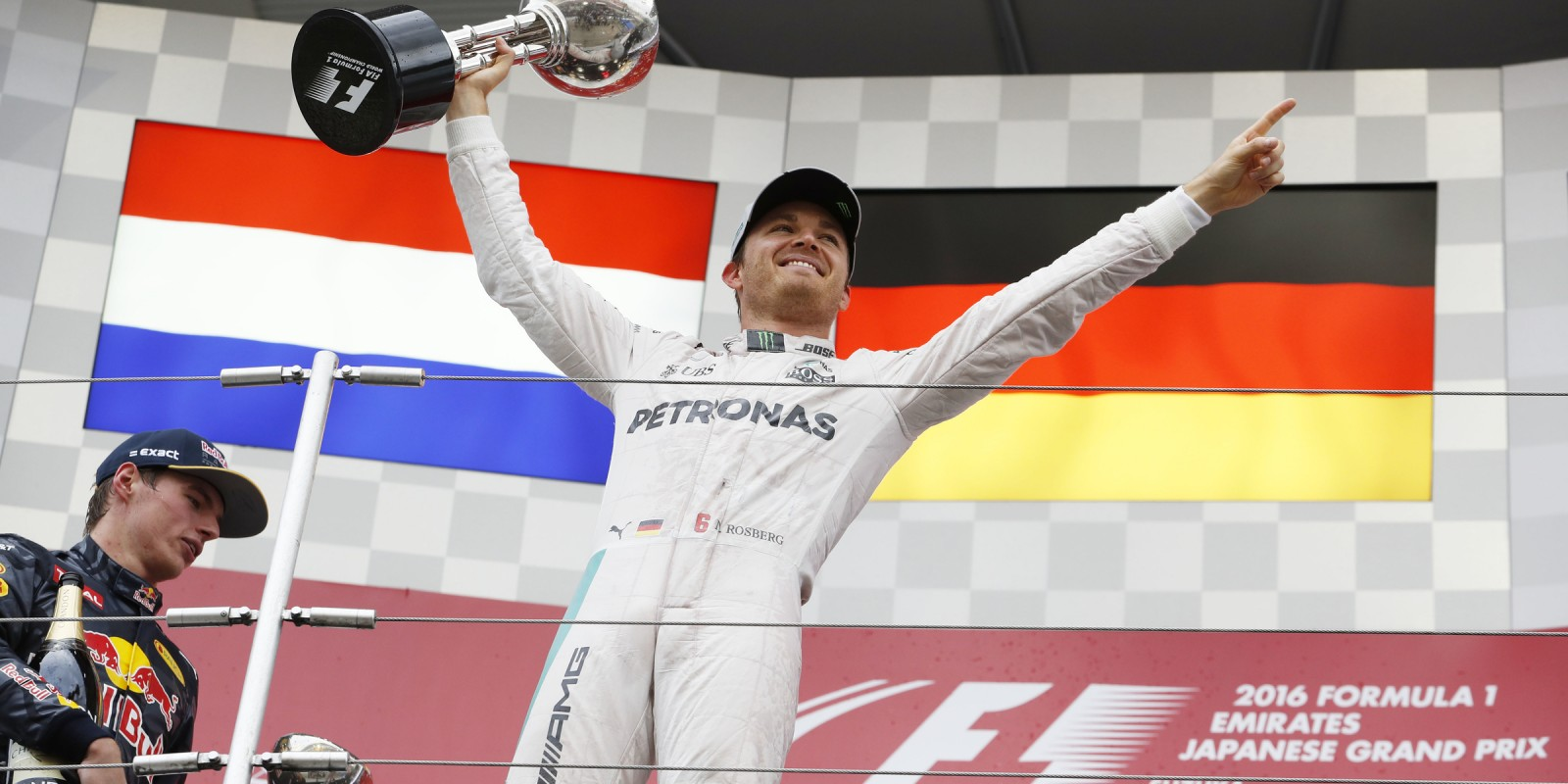 Sunday images from the 2016 Japanese Grand Prix