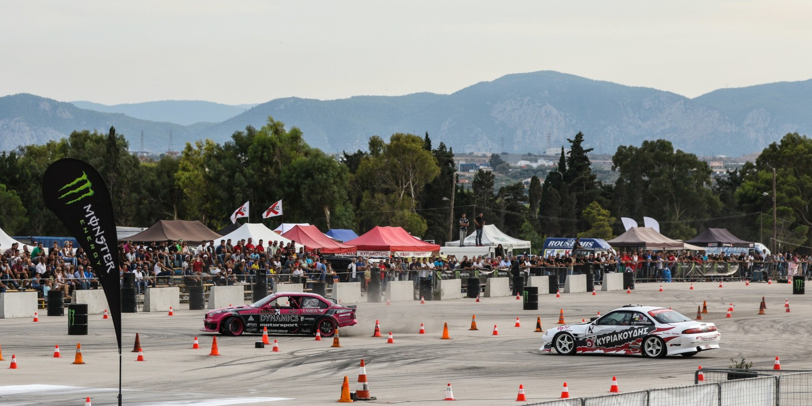 Pictures feat Greek drivers during Gymkhana GRiD Qualifier in Loutraki Greece 2016, Greek version
