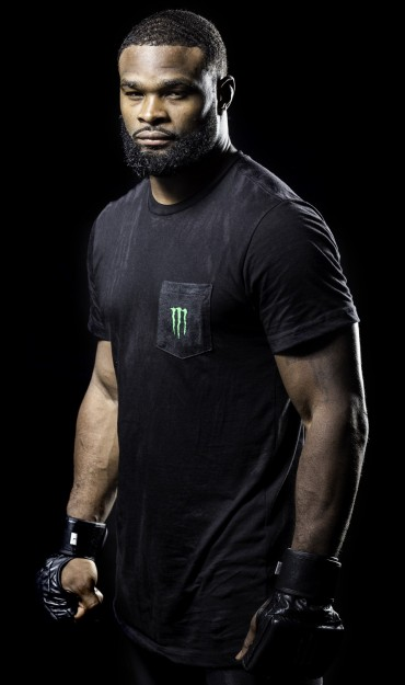 Images of Monster Energy's newest UFC athlete Tyron Woodley