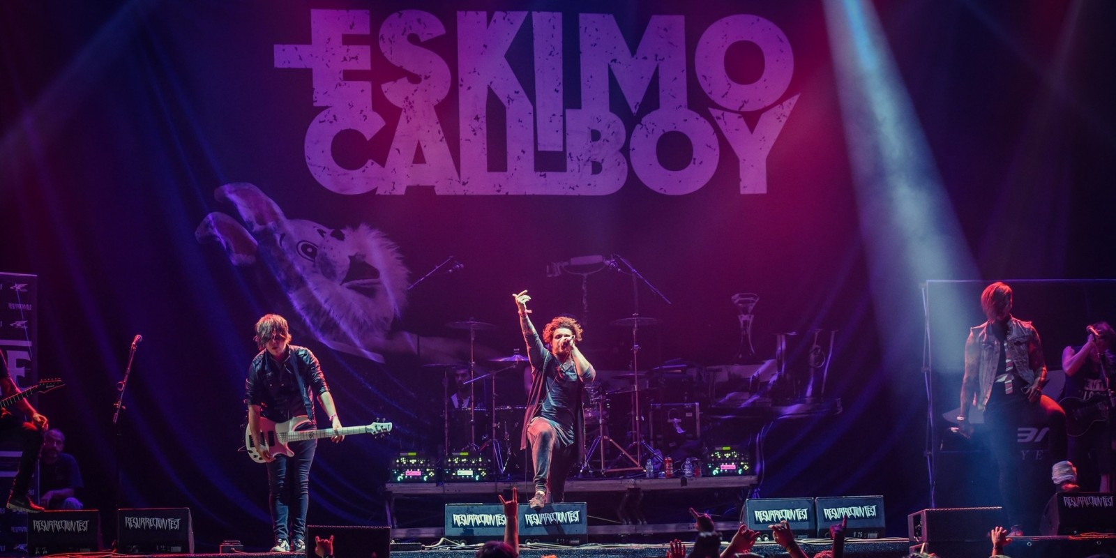 Eskimo Callboy at the opening night of Resurrection Fest in Spain