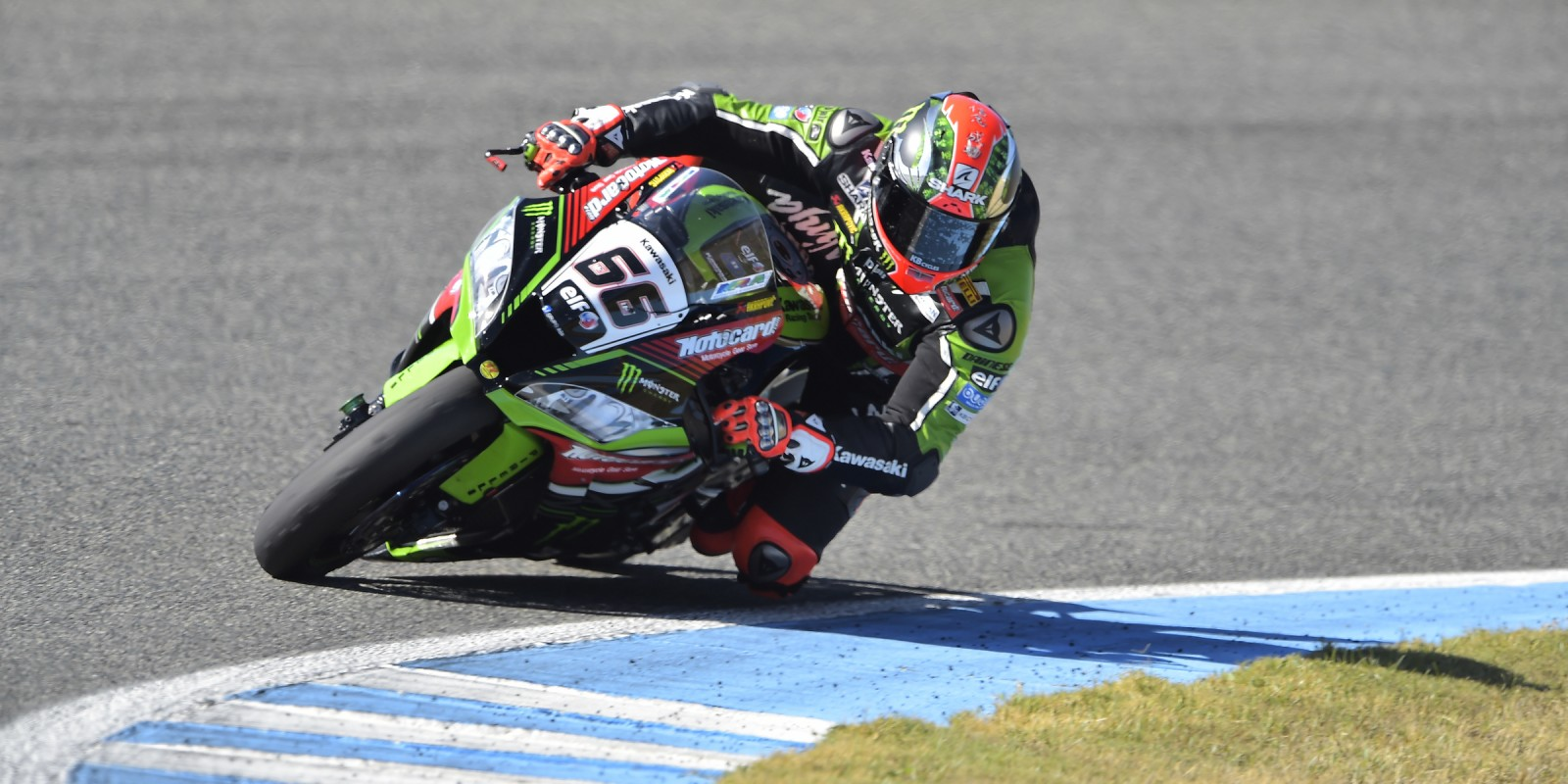 Tom Sykes at the 2016 World Superbike Gaerne Spanish Round