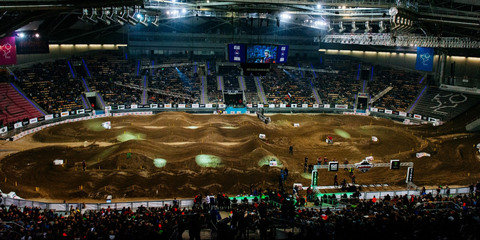 Supercross King of Poland 2016 - Venue overview