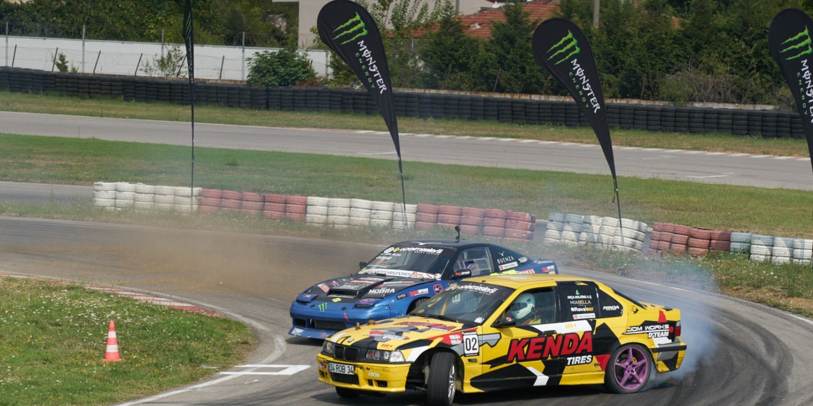 Event shots from the 3rd Round of the ApexMasters Turkish Drift Series - we just sponsored the event - branding on site