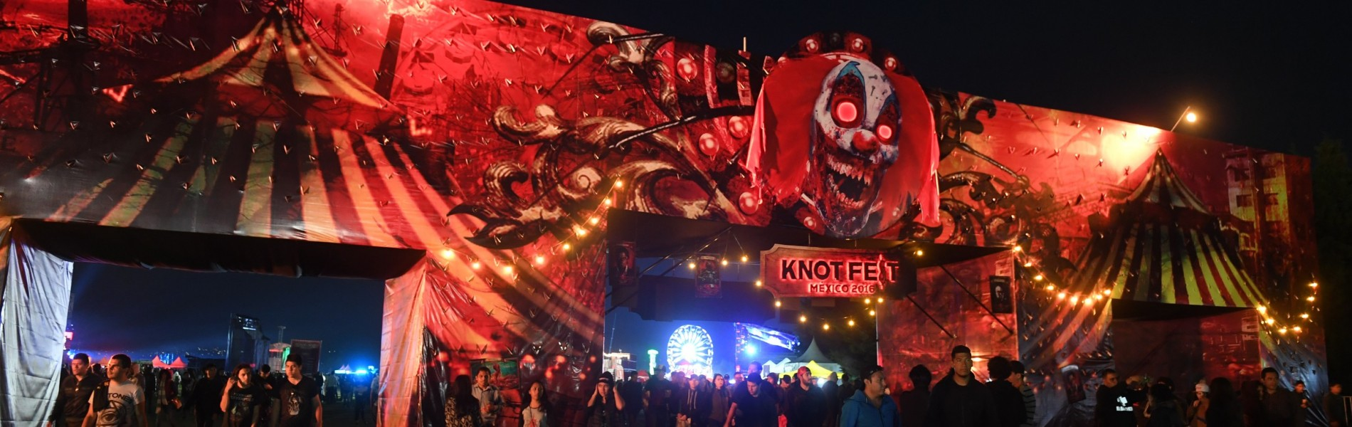 After a successful first edition in Mexico last year, the Knotfest 2016 return to Foro Pegaso, where was presented a poster full of the best metal bands that shook the heads of all present. Monster Energy unleashed with the presence of Hatebreed band and