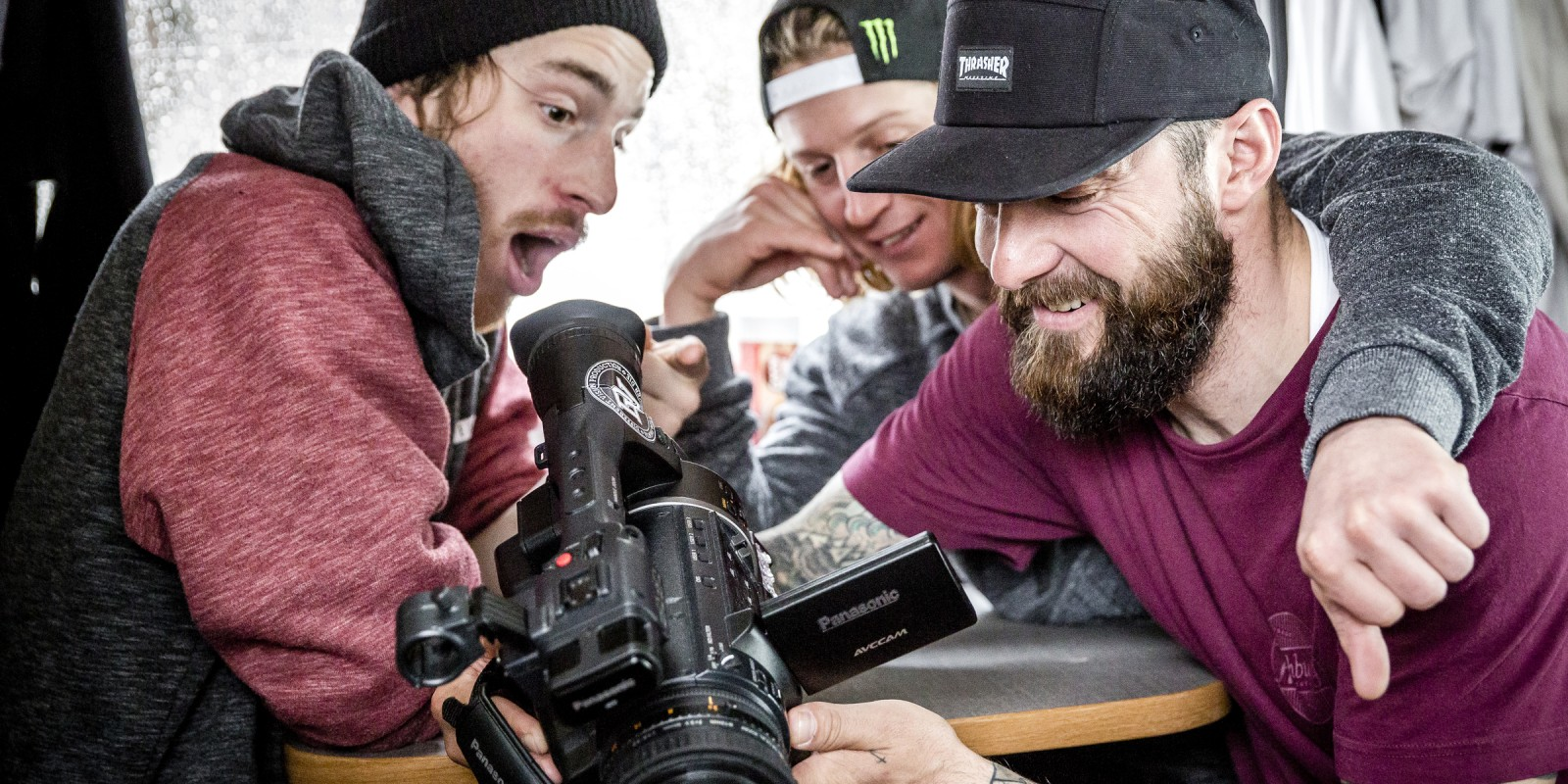 Gruber/Morgan in Searching For snowboard movie