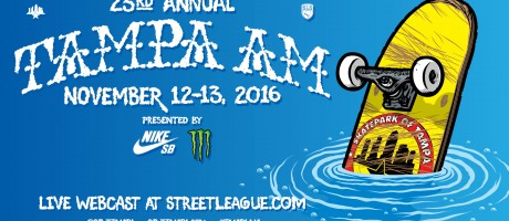 2016 Skate Tampa Am Skateboard Contest Hero Image