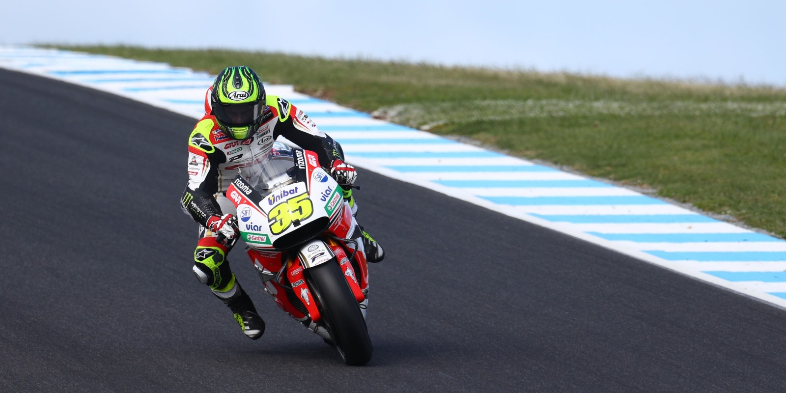Sunday race day action images of MotoGP Phillip Island, Australia