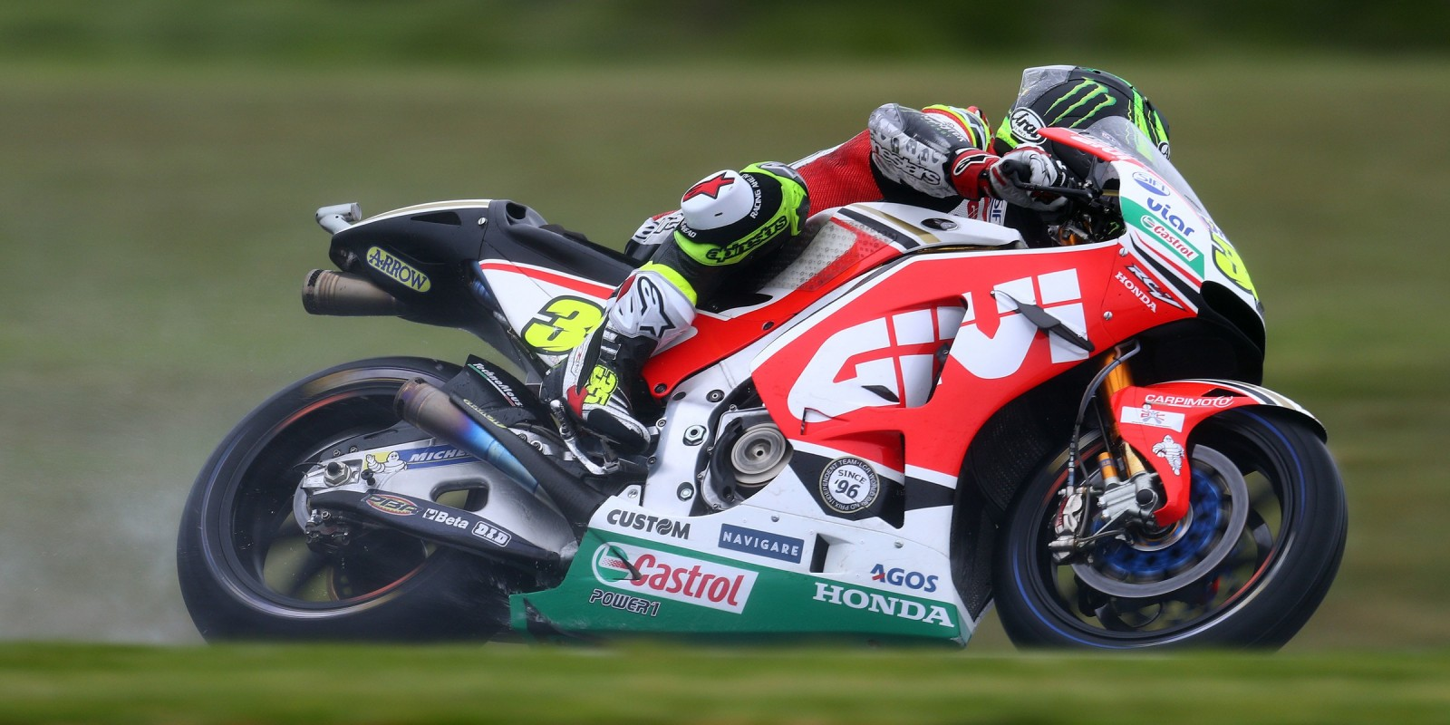Saturday's action shots of MotoGP Phillip Island in Australia