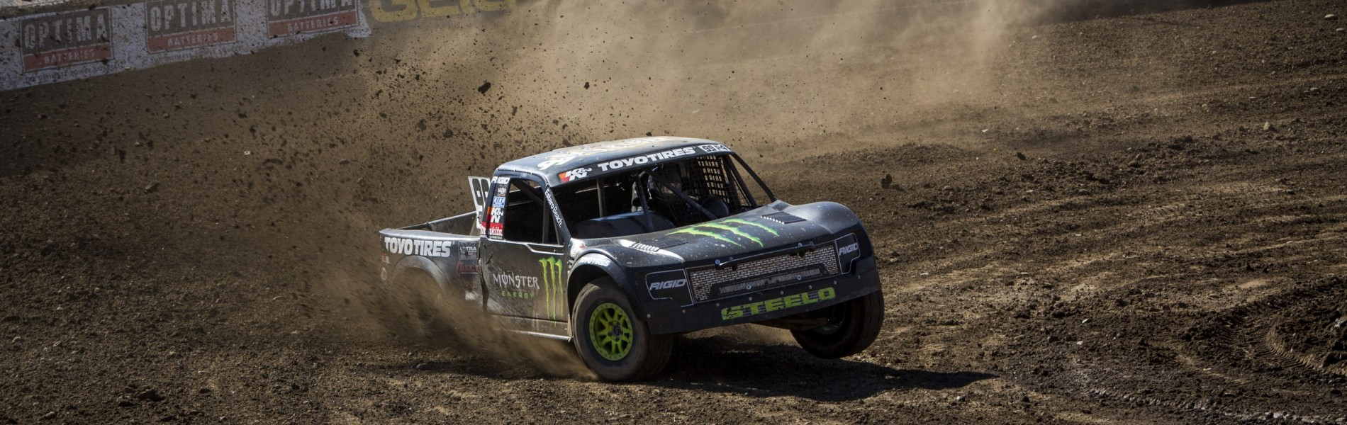 Kyle Leduc during the 2016 LOORS Off Road race in Reno, Nevada