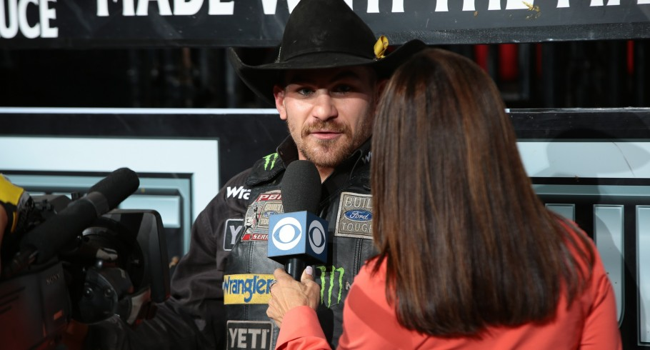 Chase Outlaw wins the Tucson Built Ford Tough series PBR in Tucson, Arizona