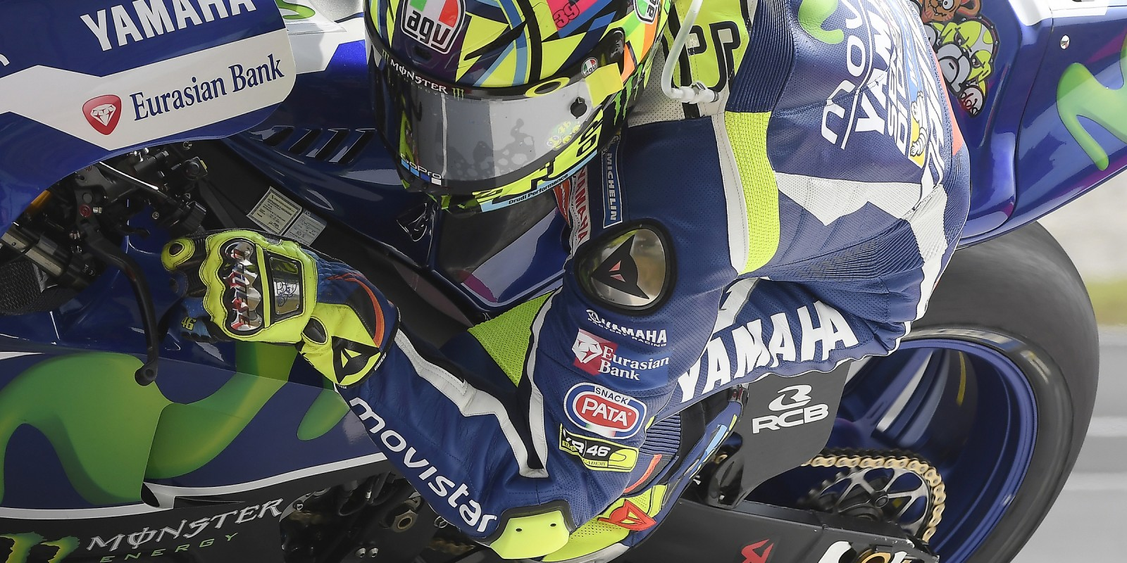 Valentino Rossi at the 2016 Shell Malaysia Motorcycle Grand Prix