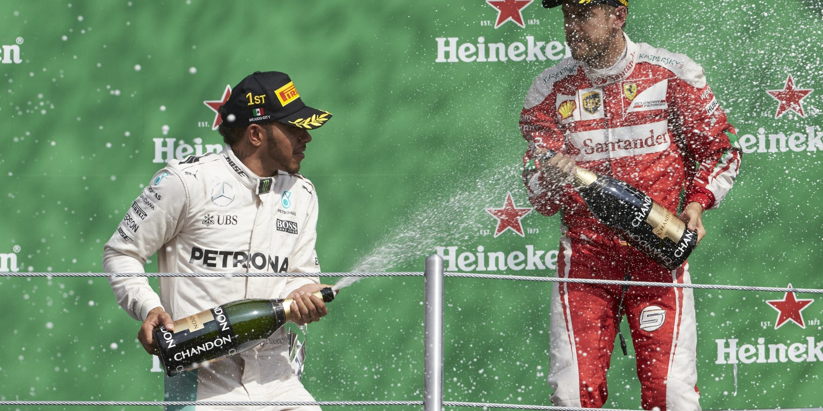 Sunday images from the 2016 Mexican Grand Prix