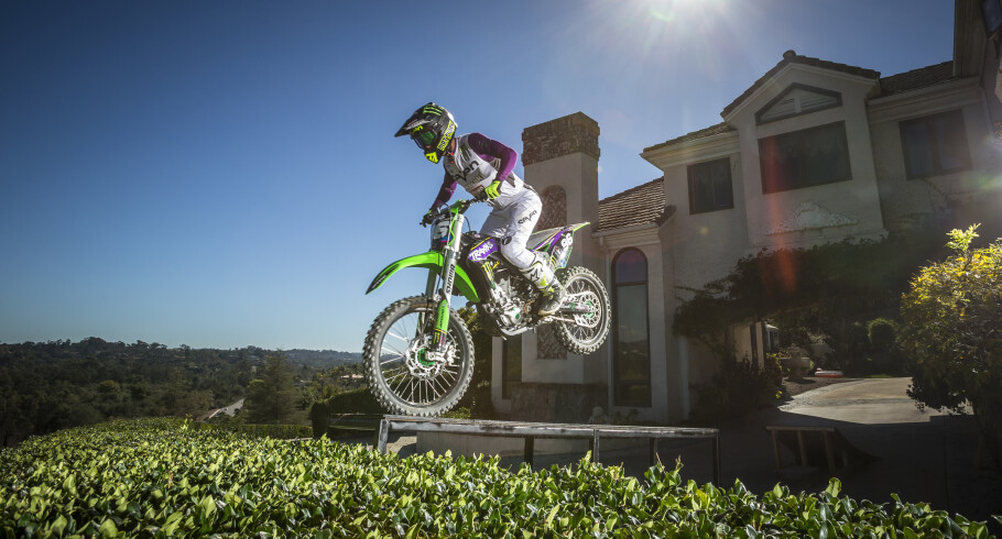 Axell Hodges during a photo shoot in San Diego