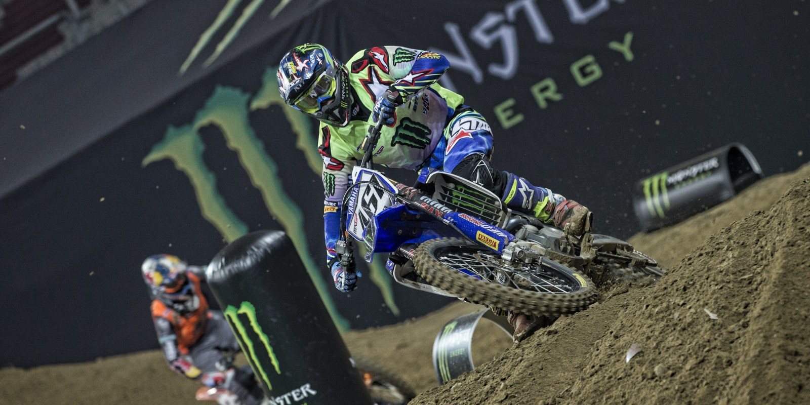 Images from the 2016 Supercross in Gelsenkirchen, Germany