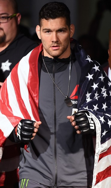 Chris Weidman fights in UFC 194.