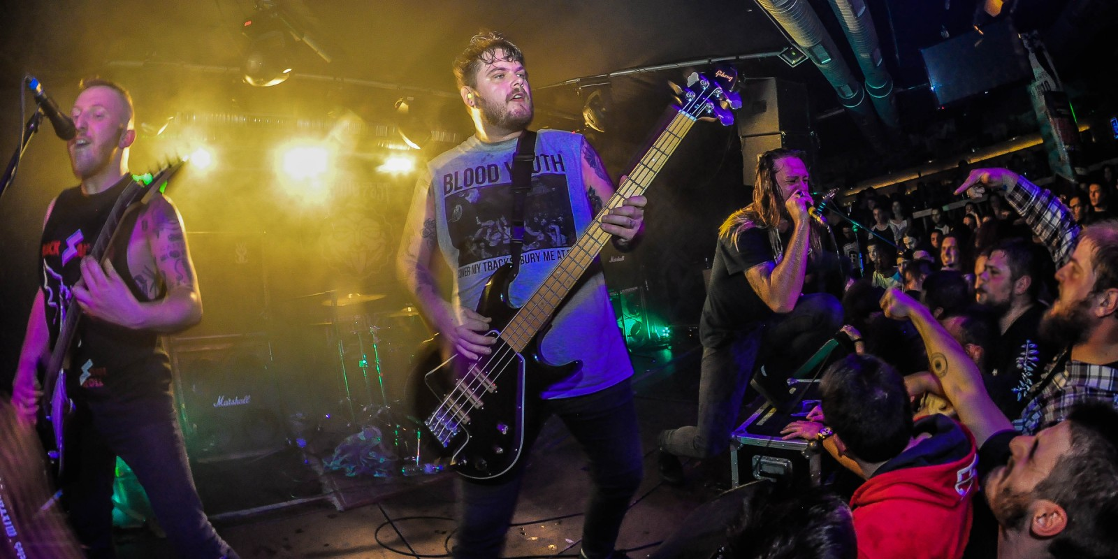 The UK band While She Sleeps had a show in Sofia, Bulgaria as park of their Euro tour.