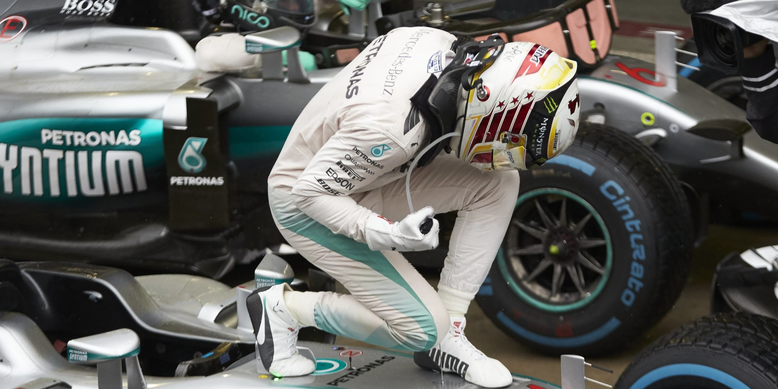 Sunday images from the 2016 Brazilian Grand Prix