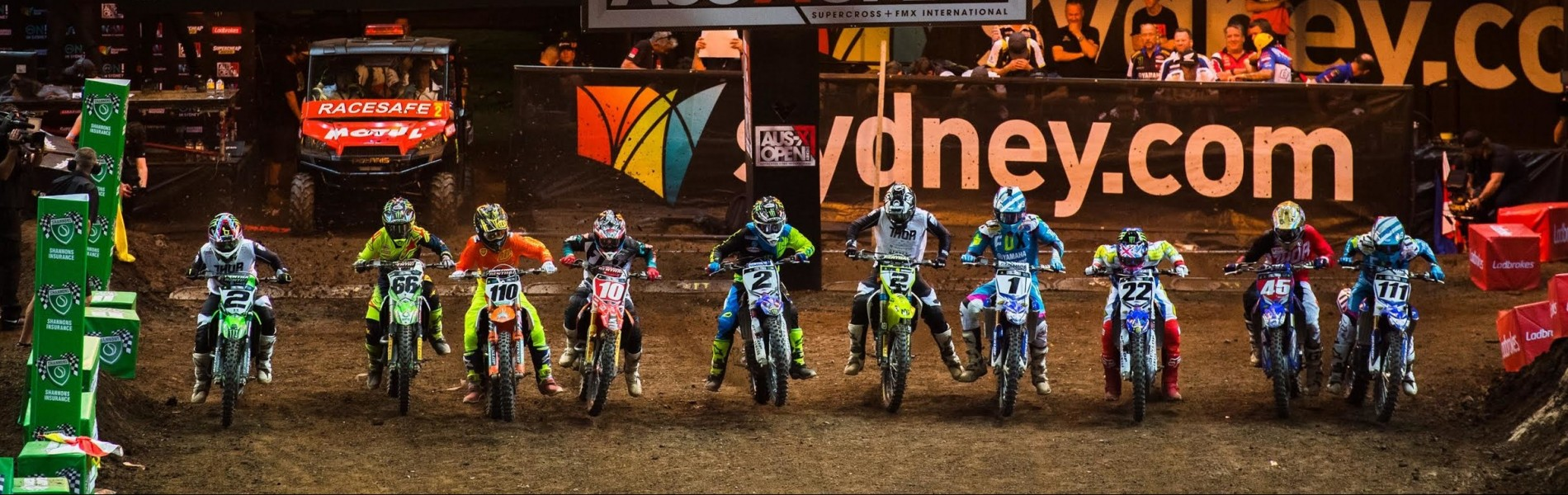 AUS-X Open Sydney 2016 Day 2 Chad Reed Ryan Villopoto