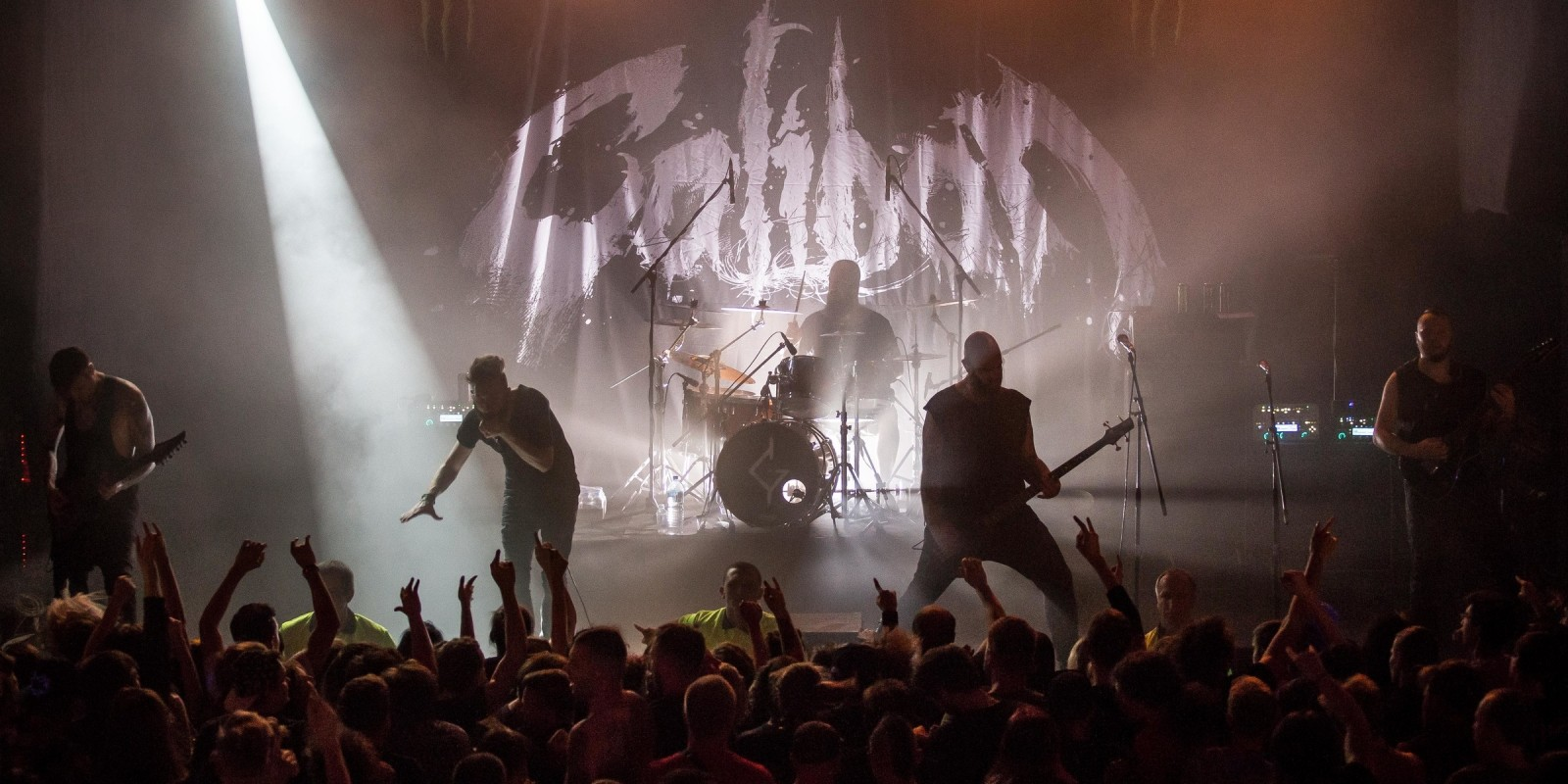 Images from Caliban gig in St Petersburg
