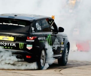 Saturday's images of Gymkhana GRiD final in Greece