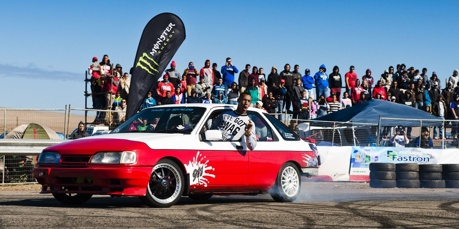 Monster Energy at the 2015 Saldanha Drags 4 in South Africa