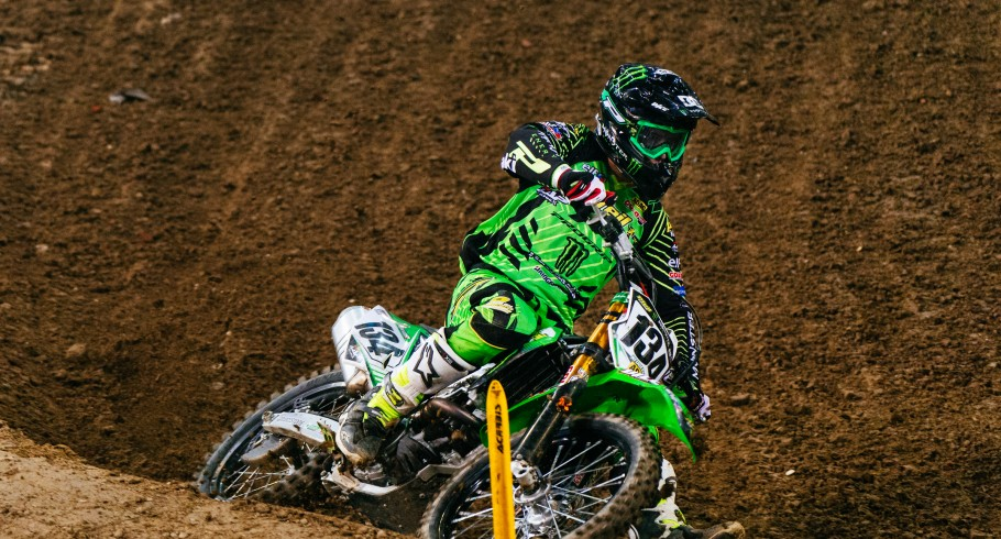 Supercross King of Poland 2016 - Filip Neugebauer supercross action picture