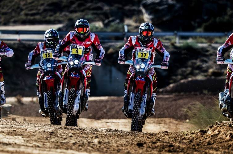 Monster athletes for the 2017 HRC Presentation