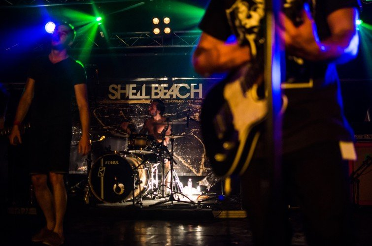 Monster Energy band, Shell Beach performing at Rockmaraton festival 2015