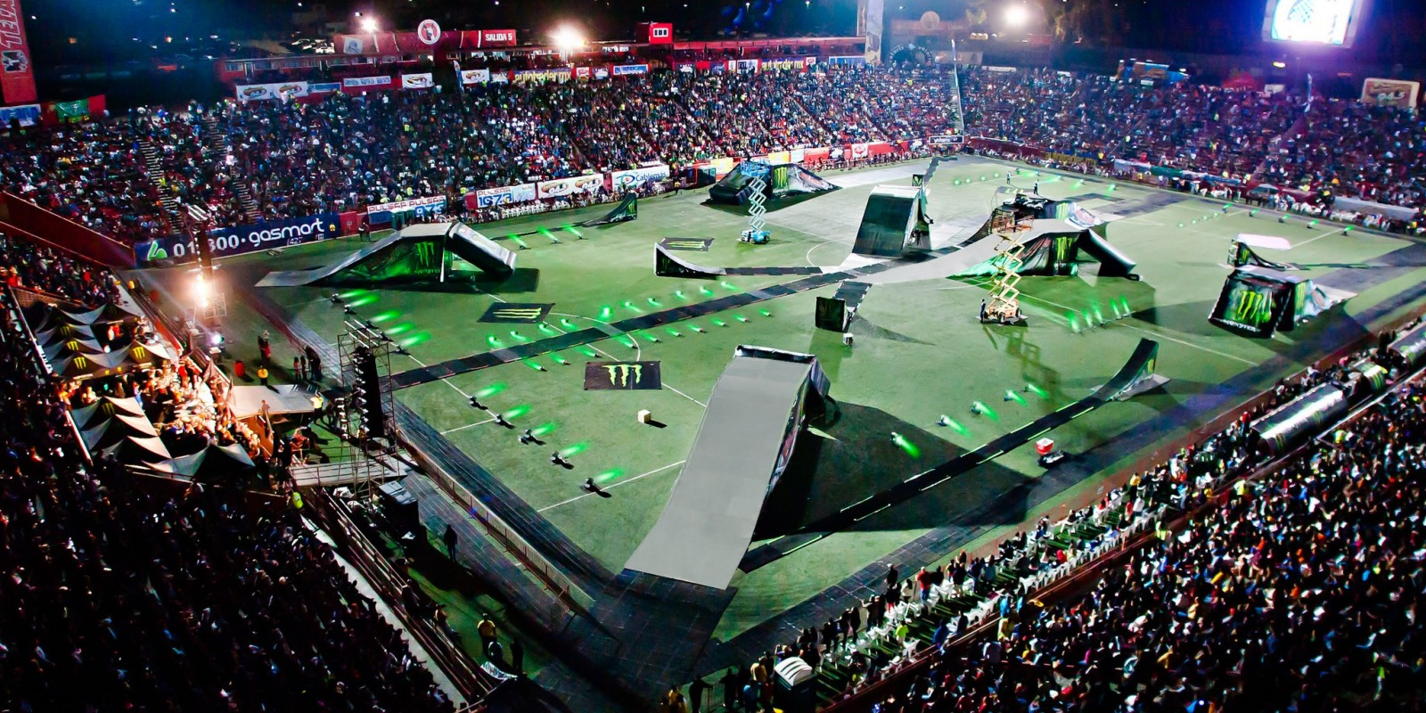 Arena Ciudad de México, where the X Pilots 2015 was held by Monster Energy at Mexico City, Mexico.