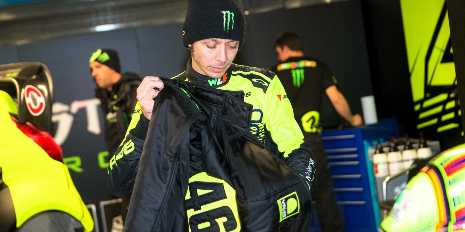 Vale after the race