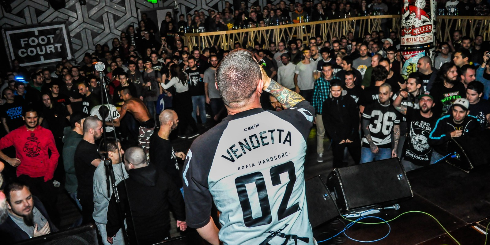 The hardcore legends Madball had a show in Sofia with the local band supported my ME Vendetta.