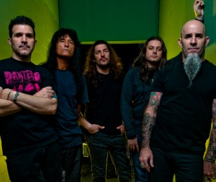 Anthrax Photoshoot in Hollywood, CA