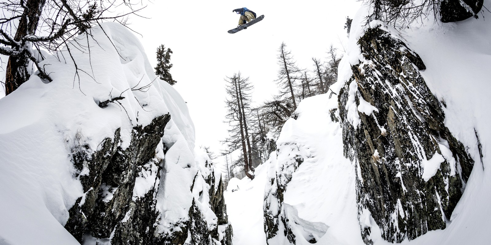 Gruber in Searching For snowboard movie