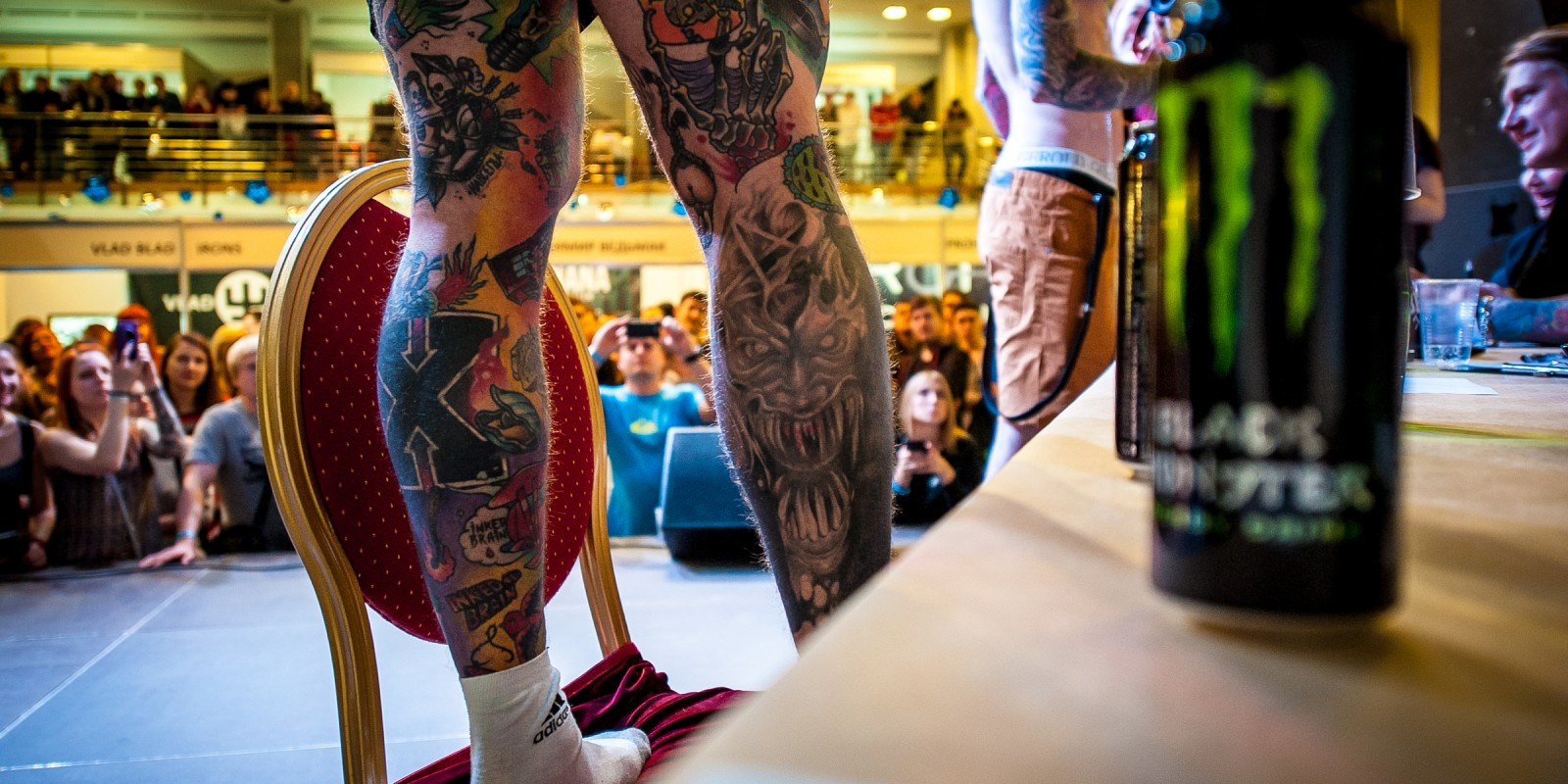 Images from Ural Tattoo convention