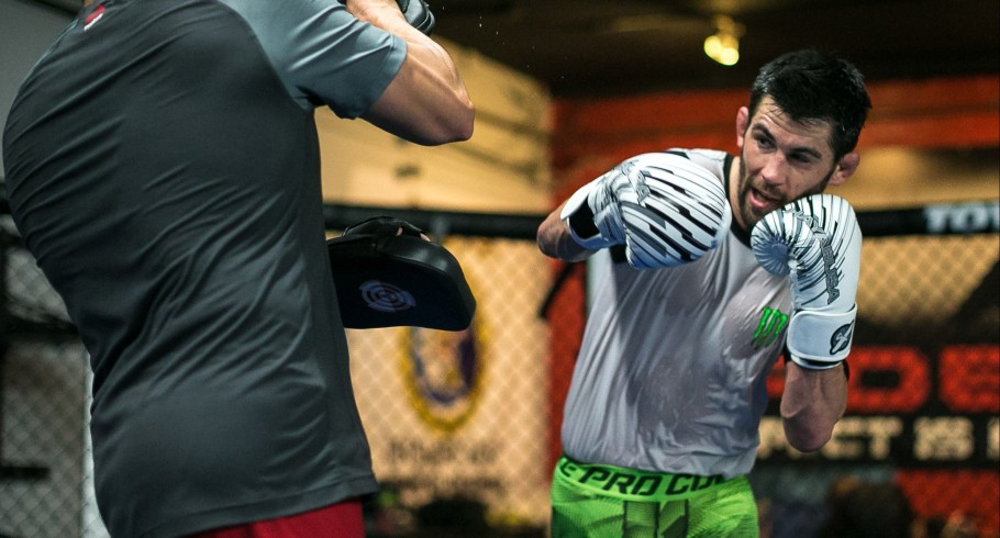 Dominick Cruz training photos