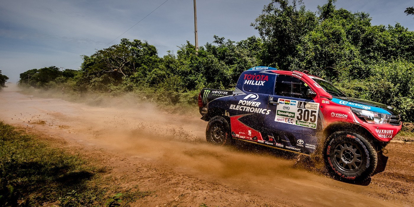 Images of Nani Roma on Stage One of the 2017 Dakar Rally