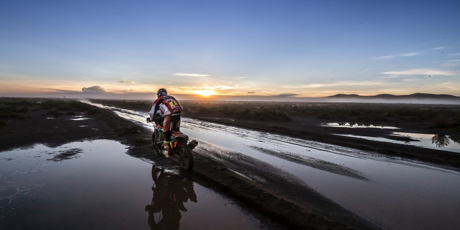 Ricky Brabec at the 2017 Dakar Rally