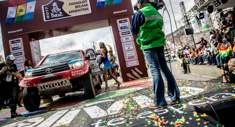 Images of Nani Roma on Stage 6 of the 2017 Dakar Rally