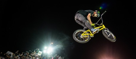 Baltic Games 2016 - BMX park finals, Colton Walker in action
