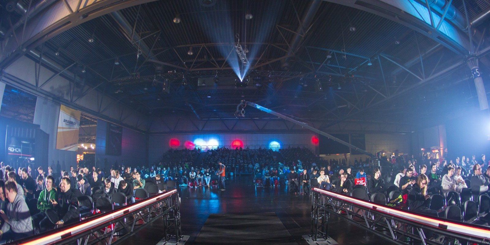 Crowed at the DreamHack Germany